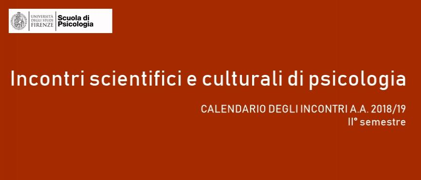 Incontri scientifici e culturali